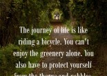 Life Quote on Journey