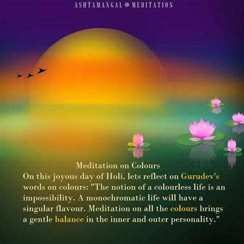 Meditation Colour Therapy