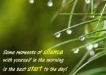 Meditation Serenity Silence