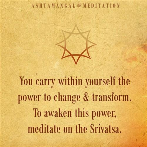 Srivatsa Sacred Symbol